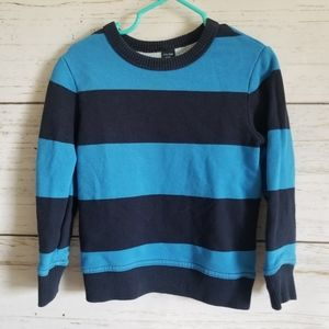 Baby Gap Striped Sweatshirt Sz 2